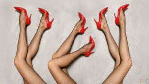 Erotic foot massage