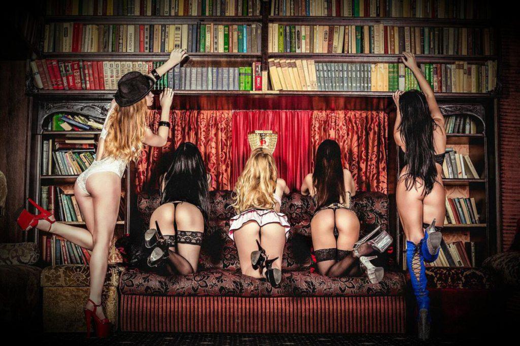 Эротическое лесби шоу